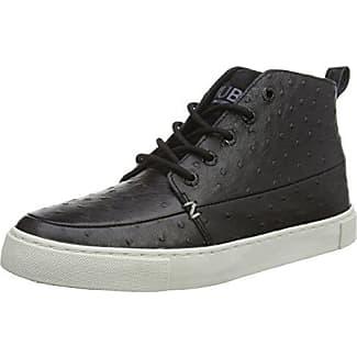 Hub Camden-W - Zapatos con Cordones de Piel Mujer, Color Negro, Talla 37