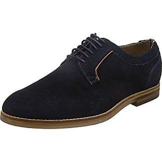 Hudson Rowe - Zapatos Hombre, Marron (Suede Tobacco), EU 44