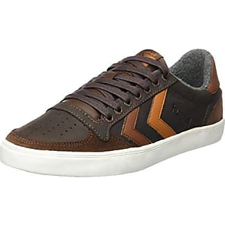 SupraIneto - Low-Top Uomo, Marrone (Braun (Brown-White)), 40