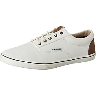 JACK & JONES Herren Jfwvision Mixed Marshmallow Low-Top, Weiß (Marshmallow), 44 EU