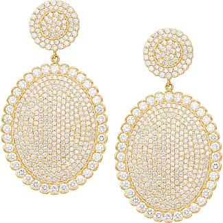 Jamie Wolf Tiny Pavé Acorn Earrings with Diamonds