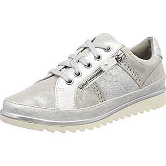 Jana 23602, Zapatillas para Mujer, Plateado (Silver Comb.), 42 EU