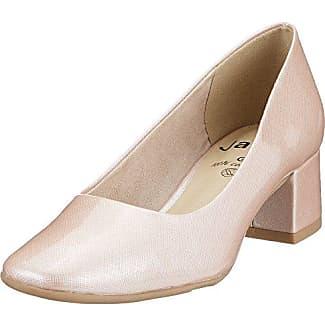 Jana 22302, Zapatos de Tacón para Mujer, Rosa (Berry Patent 576), 38 EU