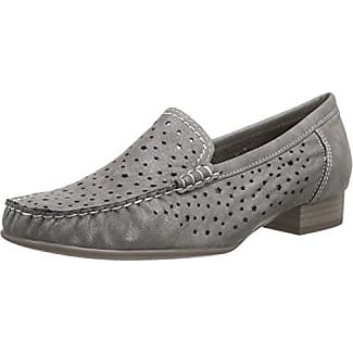 ara New-Haven 12-30932-07 - Mocasines de cuero para mujer, color blanco, talla 41.5