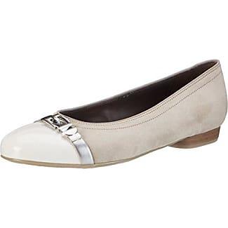 Pisa - Bailarinas Mujer, Color Blanco, Talla 38,5 Jenny