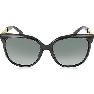 Womens Gotha Sunglasses, Mtblackpalla with Gry Sf Slv Sp Lens, 50 mm Jimmy Choo London