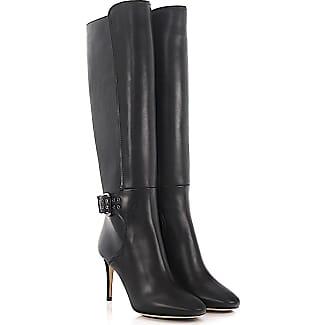 Knee Boots Darwin 85 leather black Jimmy Choo London