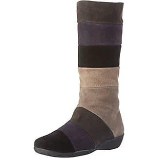 Karielle, Zapatillas de Estar Por Casa Para Mujer, Gris-Grau (Antracita), 38 EU Johannes W.