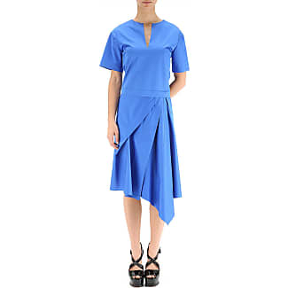 Dress for Women, Evening Cocktail Party On Sale, Blue, polyester, 2017, 10 8 John Galliano