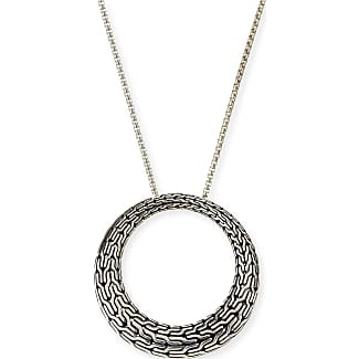 John Hardy Classic Chain Silver Graduated Necklace, 36L