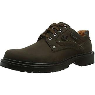 Jomos City Sport - Zapatos de cordones, Hombre, Negro (Schwarz 23-000), 50 EU