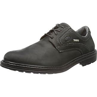 Jomos City Sport 5 - Zapatos con cordones de cuero hombre, color negro, talla 46