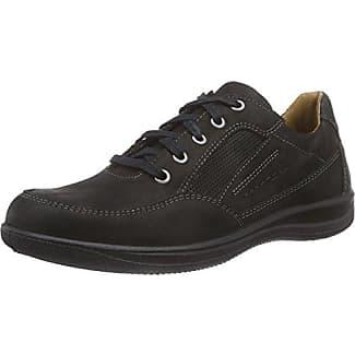 Touring, Zapatos de Cordones Derby para Hombre, Schwarz (Schwarz), 43 EU Jomos