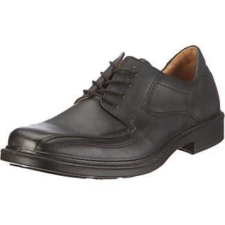 Jomos Forum - Zapatillas de casa de cuero hombre, color negro, talla 46