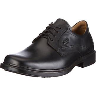 Jomos City Sport 5 - Zapatos con cordones de cuero hombre, color negro, talla 47