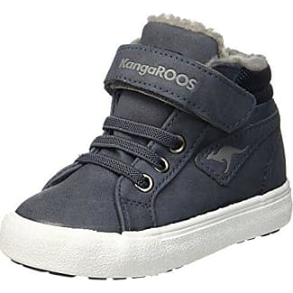 Kangaroos K-Baskled II, Zapatillas Unisex Niños, Schwarz (Jet Black/Steel Grey), 38 EU