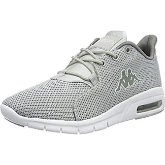 Kappa Unisex-Erwachsene Clovis Low-Top, Grau (1310 Anthra/White), 38 EU