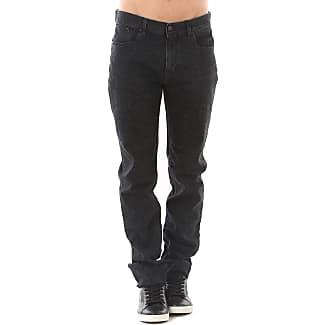 Jeans On Sale, Black, Cotton, 2017, 32 34 Karl Lagerfeld