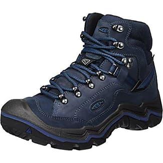 Durand Mid EU, Zapatos de High Rise Senderismo para Mujer, Gris (Gargoyle/Capri Breeze), 36 EU Keen