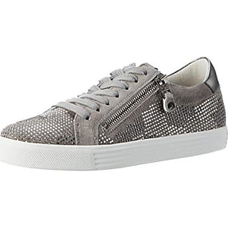 Town, Sneaker Donna, Argento (Light Silver/Silver Sohle Weiss), 39 EU Kennel & Schmenger