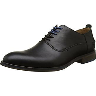 Kickers Kymbo Classic Lthr Am, Zapatos de Cordones Brogue para Hombre, Marrón (Mid Brown), 43 EU