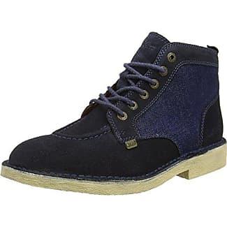 958501E6L, Zapatos de Cordones Oxford para Mujer, Plateado (Silver Gunn), 37 EU Bullboxer