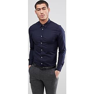 Check Shirt In Navy And Green - Navy khaki Kiomi