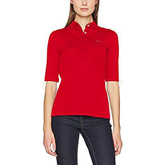 polo lacoste femme rouge ca014966b764