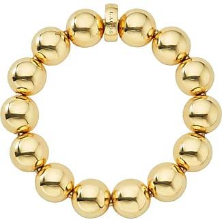 Lagos Medium 11.7mm Caviar Ball Stretch Bracelet