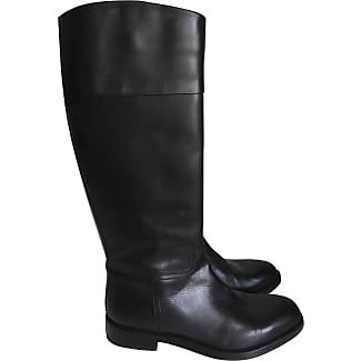 Pre-owned - Leather boots Lanvin