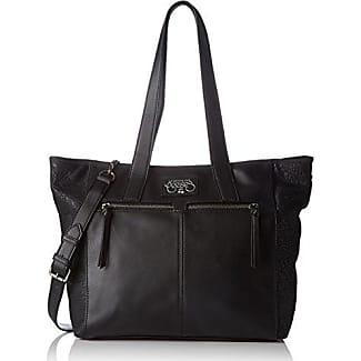 Atlanta 3, Womens Shoulder bag, Noir, 32x25x10 cm (W x H L) Le Temps Des Cerises