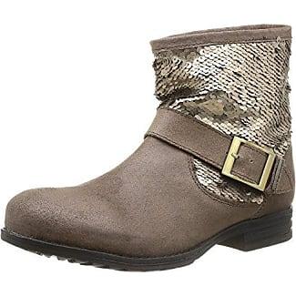 HUB Vermont Boots Women dark taupe Damen Gr. 39.0 EU