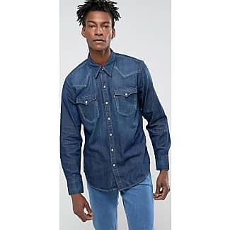 Levis Classic Western Shirt Summer Wash Dark WIKIHARGA Source Levi s Men Debenhams .