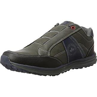 Lico Safety 750005 - Calzado de protección de ante para hombre, color gris, talla 39
