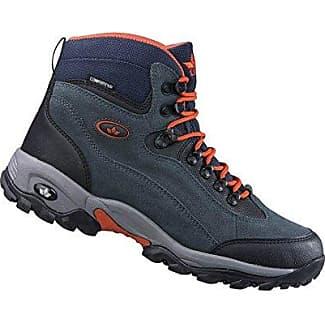Lico Milan, Zapatos de High Rise Senderismo para Hombre, Negro (Anthrazit/Orange Anthrazit/Orange), 47 EU