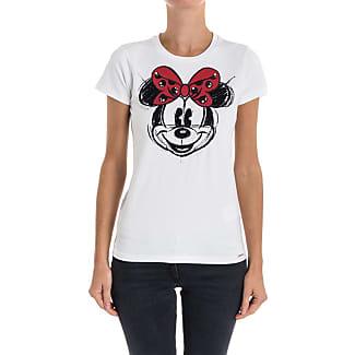 T-Shirt for Women On Sale, Pale Pink, Cotton, 2017, 12 Liu Jo