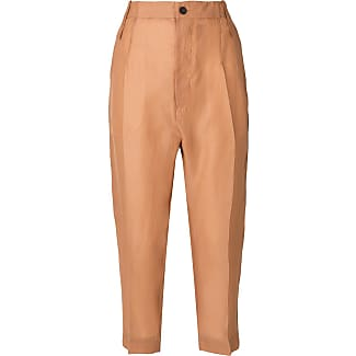 cropped tailored trousers - Yellow & Orange Lost And Found Rooms