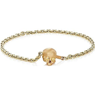 Luis Morais Mens Skull Chain Ring