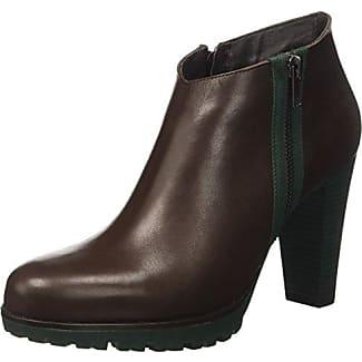 Dockers 354041-141039 - botas de caño bajo de cuero mujer, color marrón, talla 39 EU (6 Damen UK)