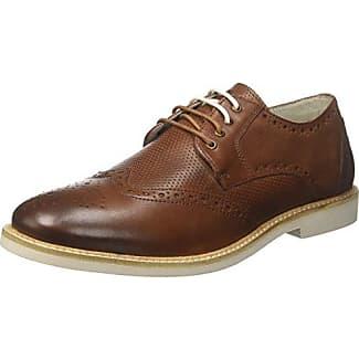 Lumberjack Walk, Zapatos de Cordones Derby para Hombre, Marrón, 44 EU