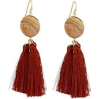 Simons Three-tassel earrings