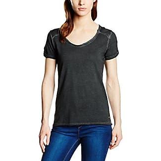 M.O.D SP16-TS197-Camiseta Mujer Negro (Black 11) 40
