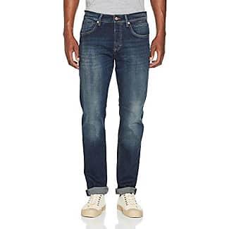 Arne Pipe, Pantalones para Hombre, Blau (Dark Blue Heavy Used H595), W33/L32 MAC