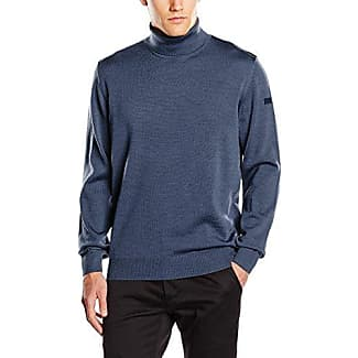 407000, Jersey para Hombre, Azul (Nimes Blue 378), Small (Talla del Fabricante: 48) Maerz