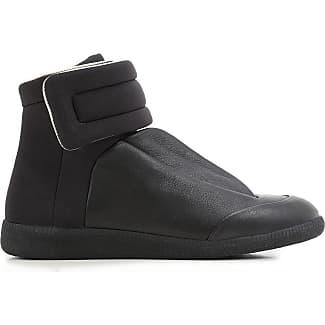 Maison Martin Margiela Sneakers For Men On Sale Black Leather