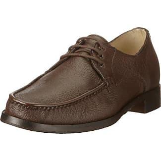Manz Riva 144074-23 - Zapatos clásicos de cuero para hombre, color marrón, talla 49