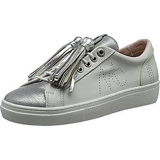 Marc Cain GB SH.12 L18, Zapatillas Mujer, Blanco (White 100), 39 EU