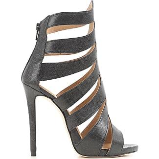 Sandals for Women On Sale in Outlet, Black, Leather, 2017, 7.5 Marc Ellis