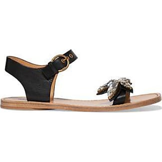 Marc Jacobs Woman Buckled Leather Sandals Black Size 41 Marc Jacobs