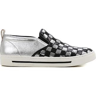 Slip on Sneakers for Women On Sale, Black, Suede leather, 2017, 3 3.5 4 4.5 5.5 6 Kendall + Kylie